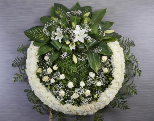 Corona Fúnebre Elegante