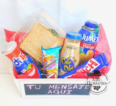 Caja de Snacks con Pizarra